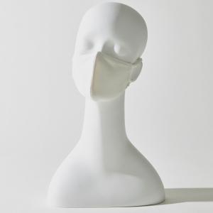 シルク立体マスク:エクリュ